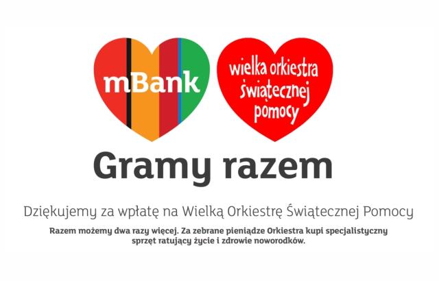 mbank wośp