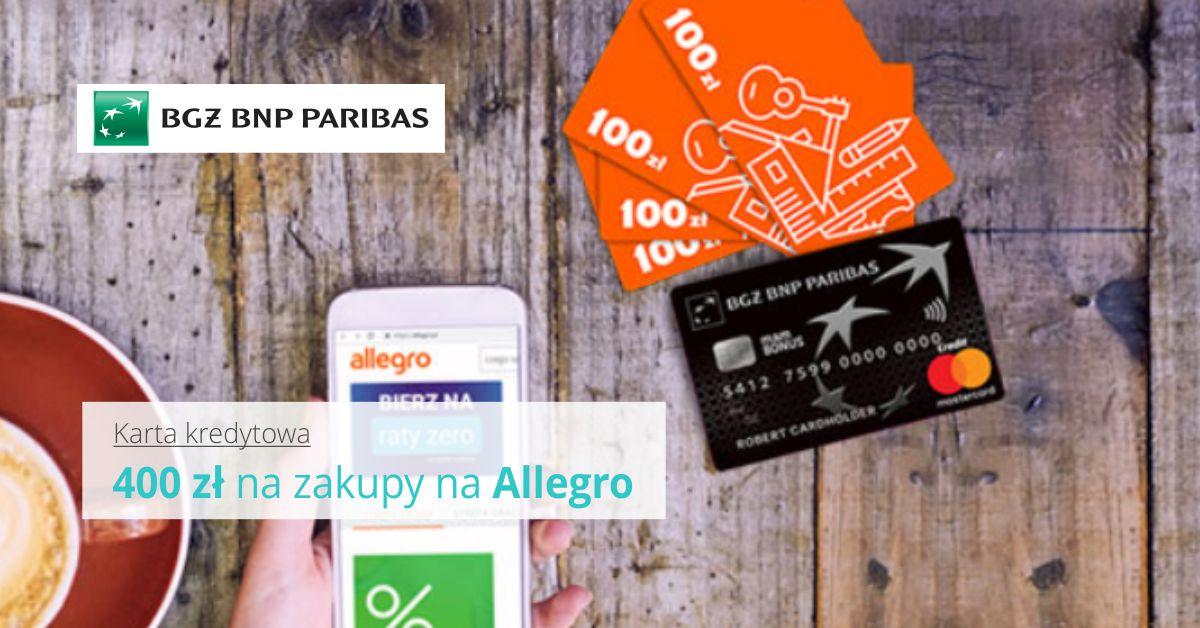 400 zł na zakupy na Allegro